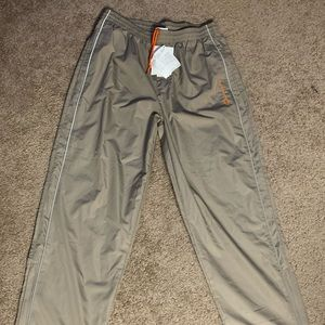 NWT Champion Womens French Terry Pant Lead Charcoal Size L